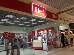 Центр обслуживания Лайф / Life в ТЦ Дрим Таун 2
