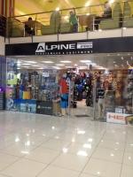 Магазин спортивного снаряжения Альпин Про / Alpine Pro в РК Блокбастер