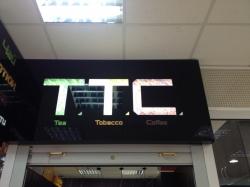 Магазин Ти Ти Си / T.T.C. в ТЦ Пирамида